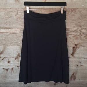 Lightweight Skirt with Foldover Waistband